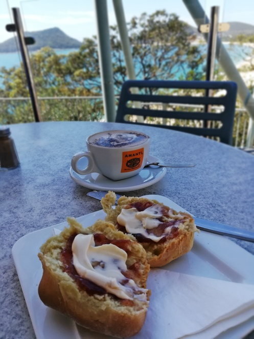 inner light tea rooms, nelson bay, shoal bay, port stephens, NSW, scones, views, cafes with views, lookouts, whale watching, breakfast, lunch, best cafes in nelson bay, best cafes in port stephens, best coffee,