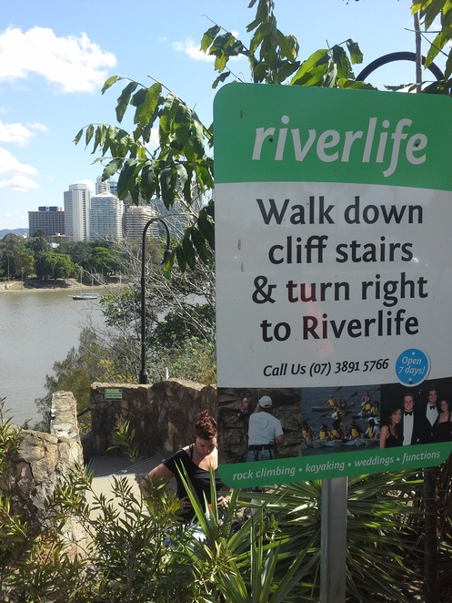 Riverlife at Kangaroo point Cliffs