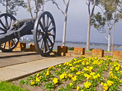 Kings Park, Cannon, Queen,