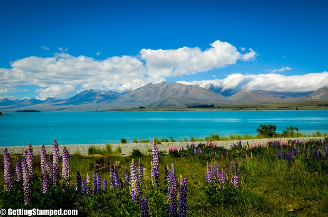lake tekapo, lakes in New Zealand, Lake Tekapo, Mackenzie Basin, Southern Alps, Pure New Zealand