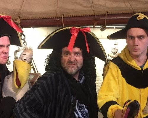 maritime museum, school holiday, pirates, theatre, childrens activities, family fun,