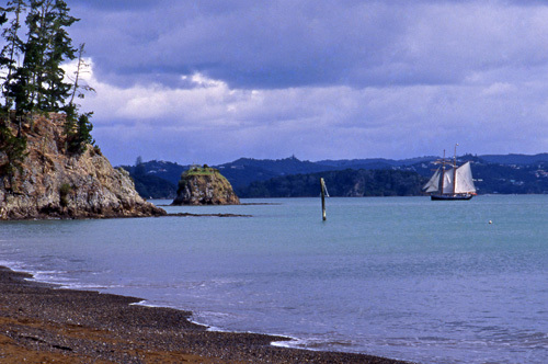 New Zealand North Island Bay of Islands Ship Tall-ship Sail Sailing Family Fun Russell Paihia
