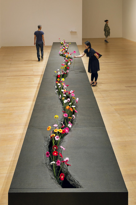 NGV, National Gallery of Victoria, Flowers, Exhibition, Lee Mingwei