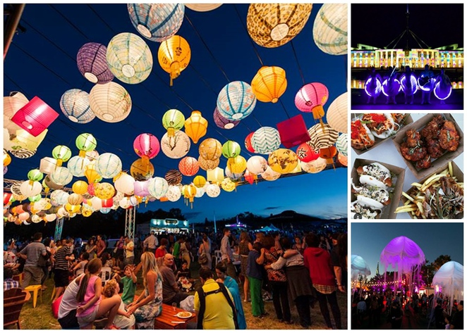 night noodle markets, canberra, ACT, enlighten, canberra, markets, events, foodie events,