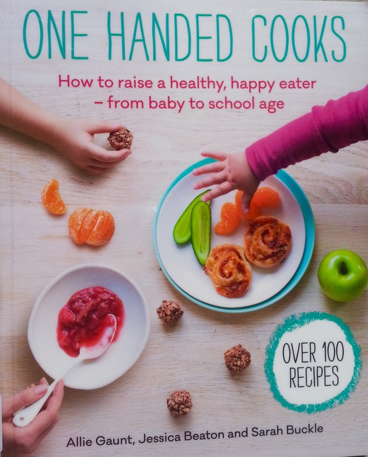 One Handed cooks, Recipe Book, Tips, Nutrition Advice, Allie Gaunt