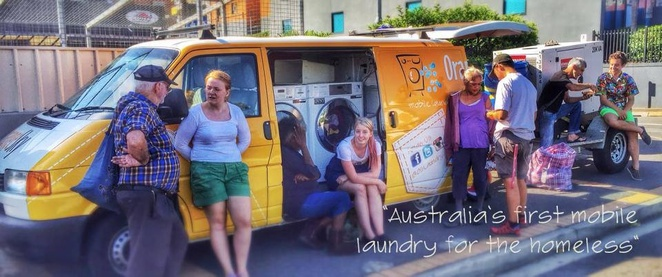 Orange Sky Laundry, mobile, community service, free, homeless, Brisbane, Redcliffe, Cairns, not-for-profit, sponsors, donations