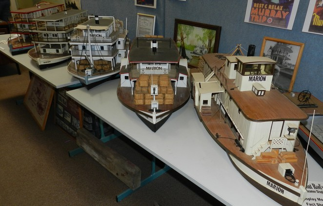 paddlesteamer, marion, riverboat, model