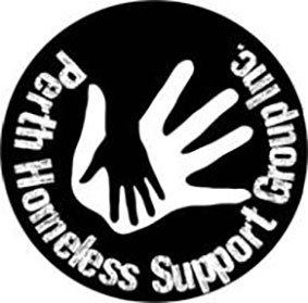 Perth Homeless Support Group Family Mini Golf Event logo