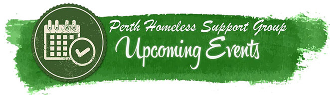 Perth Homeless Support Group. Get Your Skates On Fundraiser Events page