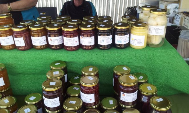 preserves, fresh produce, fresh food, organic food, markets, country markets, Wirrabara Producers Market, southern Flinders Ranges, South Australia