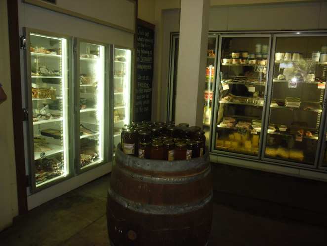 refrigerated cold meats raw meats cheeses hams yoghurts cool drinks