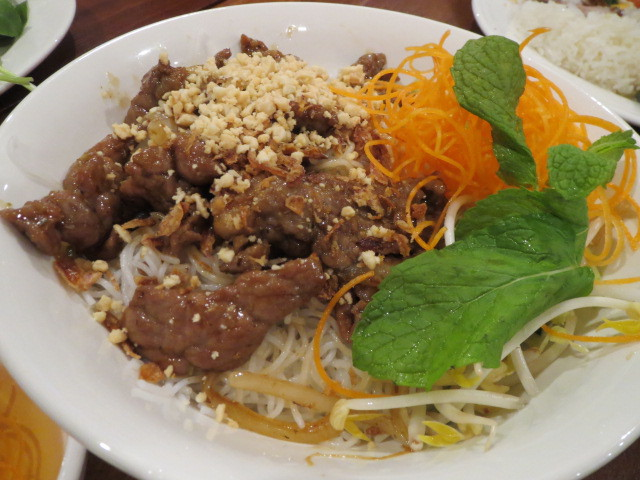 Sao Mai Kitchen, Lemongrass Beef Rice Vermicelli, Adelaide