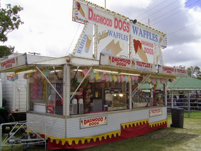 sideshow alley, dagwood dogs