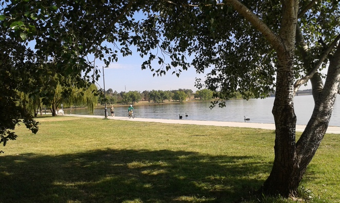 telopea park, bowan park, kingston, barton, canberra, ACT, jogging, running, lake burley griffin,
