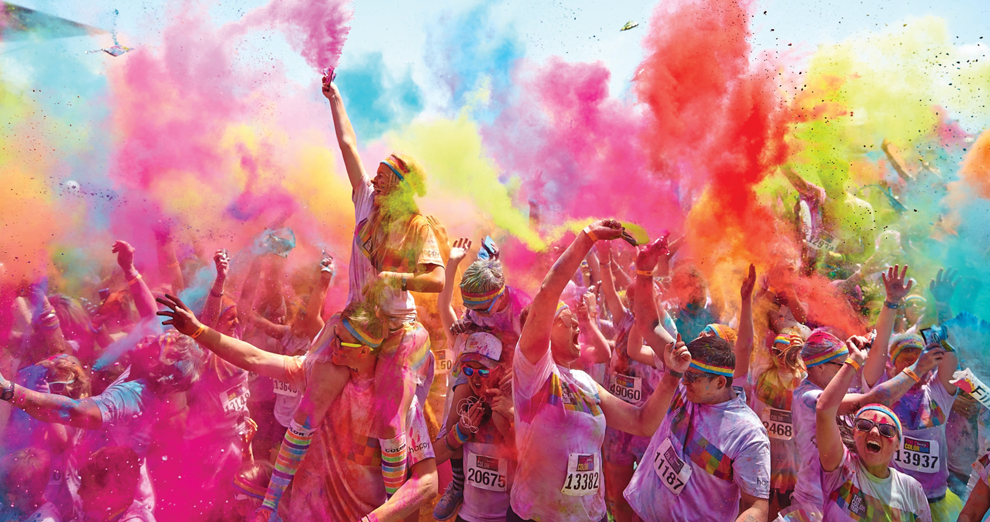 Color Run is a unique experience where every one can take part and enjoy the splash of colors. The event is focused more on people having fun with their friends and family and less on speed. The Color Run in Melbourne will be held at Sandown Racecourse on the 22nd of April