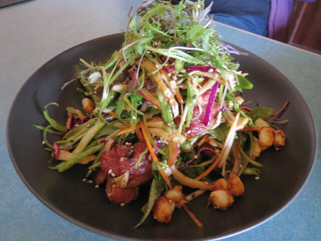 The Mile End Hotel, Australian Seared Beef Salad, Adelaide