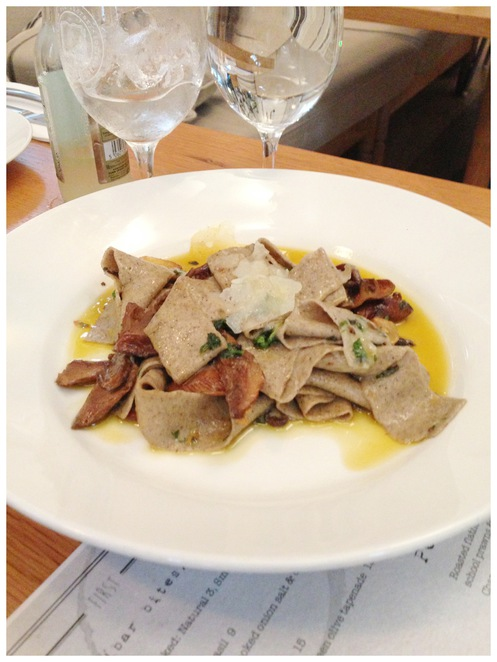 the old library, cronulla, restaurant, pasta, pappardelle, buckwheat, chestnuts, forest mushrooms, italian, food, culinary