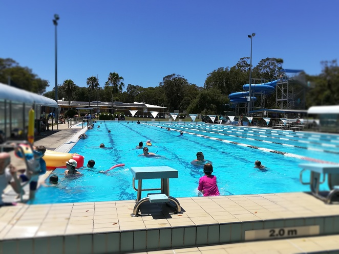 tomaree aquatic centre, slide, waterslide, NSW, nelson bay, port stephens, swimming pool, swimming lessons, aqua aerobics, fitness, swimming, laps, things to do, tobaggan hill, nelson bay road, kids, children, family, waterslides, water parks, splash parks, school holidays,
