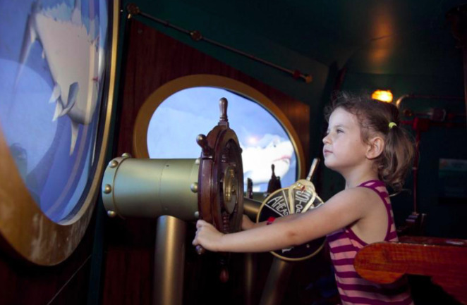 Voyage to the Deep, Fremantle Maritime Museum, Child-friendly museums, underwater exhibitions, Museums for Kids, Museums South of Perth, Fremantle Museums, Nautilus