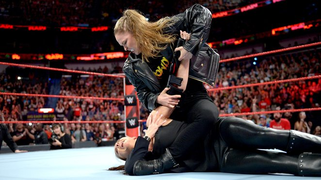 WWE, wrestling, Super show-down, melbourne, mcg, monday night raw, ronda rousey, stephanie mcmahon