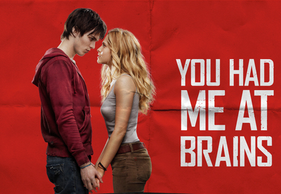 zombie love, warm bodies, zombie films