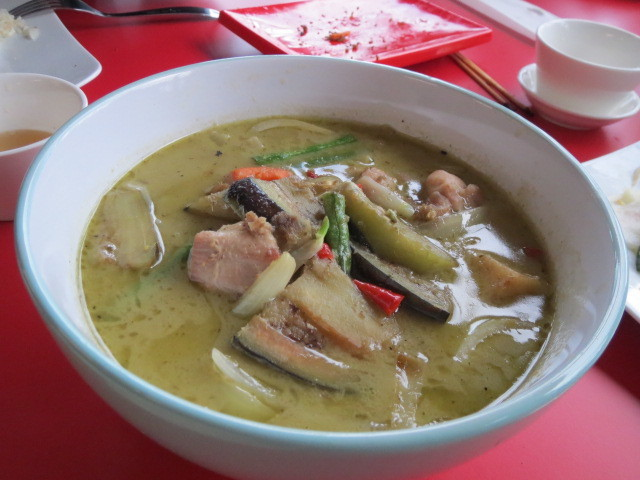 Aumbo Khmer, Green Chicken Curry, Adelaide