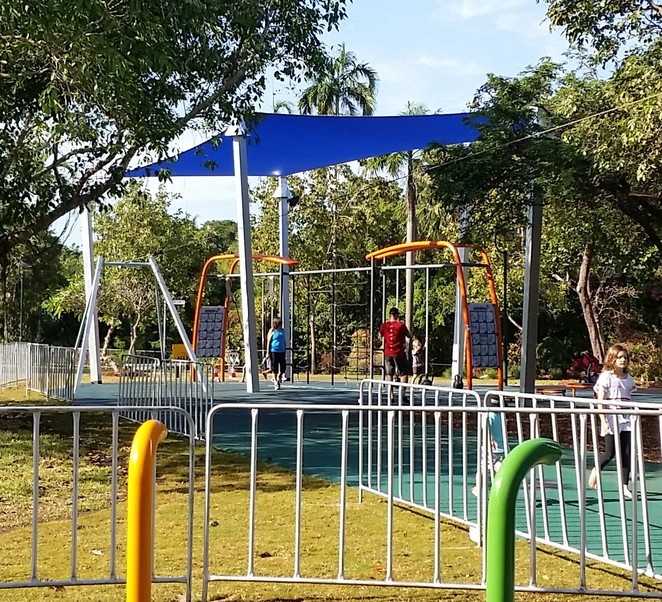 Bicentennial Park Play Space, Darwin, children play area, free play
