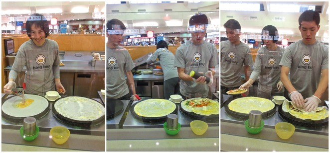 bing boy, asian street food, chinese street food, knox shopping centre, food hall, urban asian street food, wheat crepes