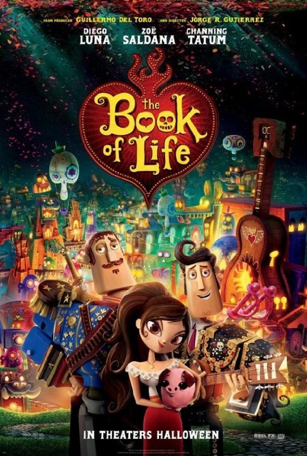 Book of Life 3D, film releases October