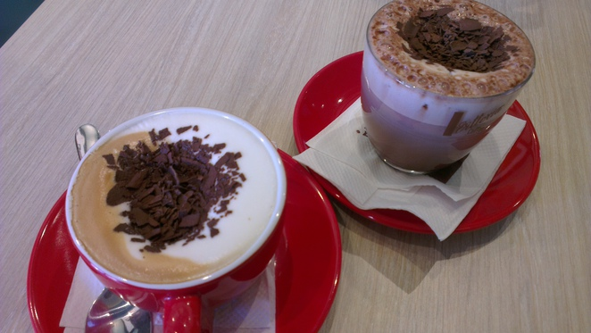 cafe randwick coffee hot chocolate