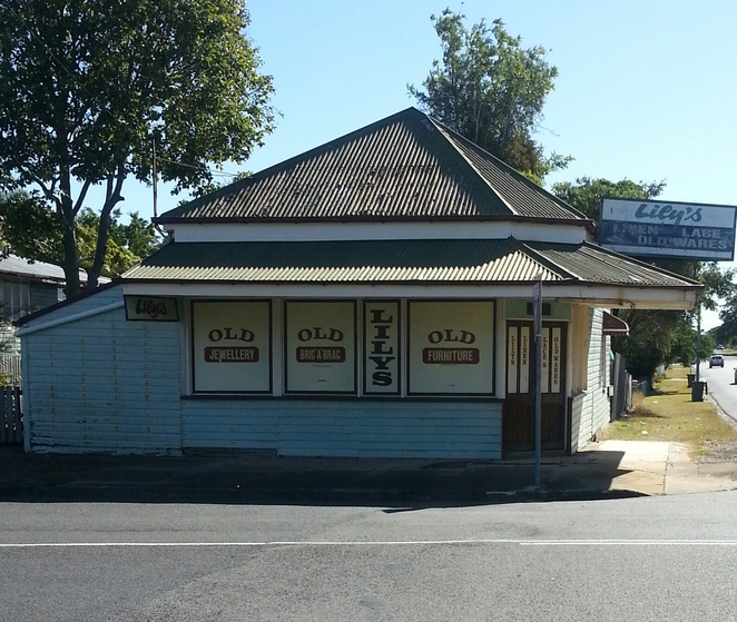 Corner Store, Maryborough, History,