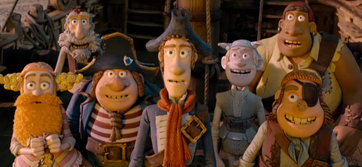 The Pirates! Band of Misfits - Film Review - Everywhere
