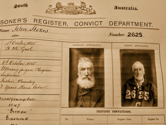 crime and punishment, early south australia, in adelaide, corporal punishment, public nudity, naked in public, murder in adelaide, adelaide gaol, illegal drugs, prisoners register