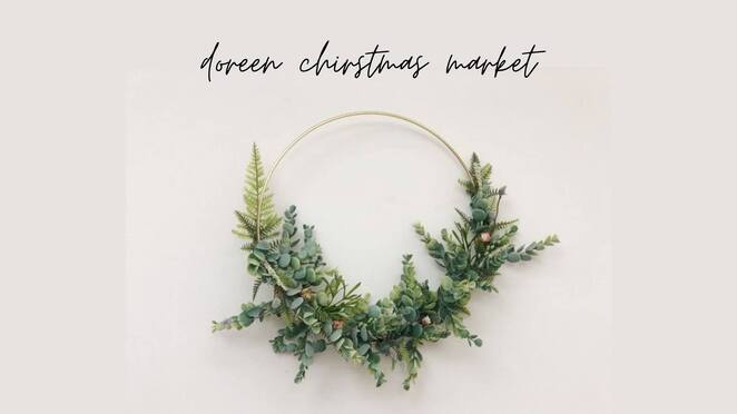 doreen christmas market 2019, community event, fun things to do, brookwood community centre, christmas carols, live music, food trucks, handmade, ooak, christmas shopping, stallholders, christmas lights, christmas prize hamper