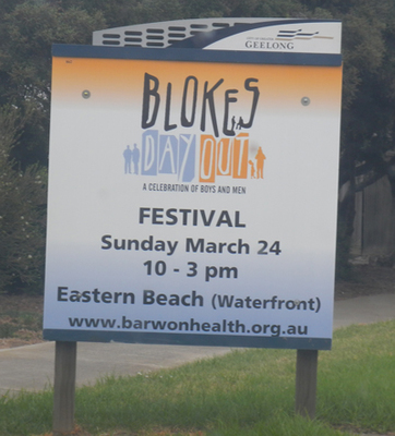 Bloke's Day Out 2013