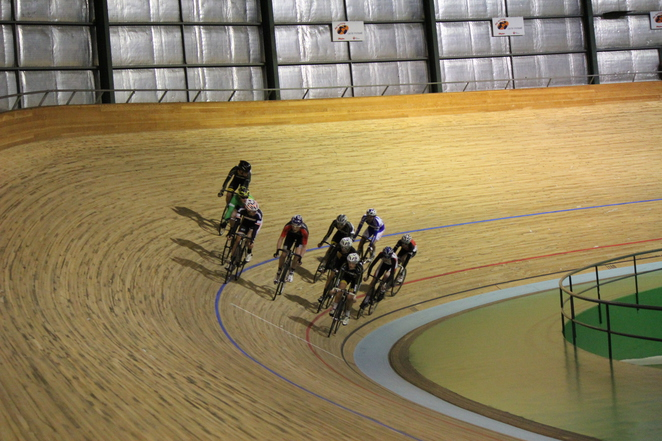 Elimination Track Cycling
