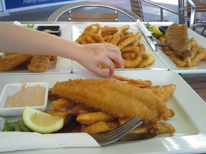 fish n chips on the gold coast