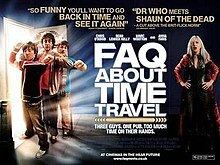 frequently asked questions about time travel, faq, time, travel, movie, poster, chris o'dowd, anna faris