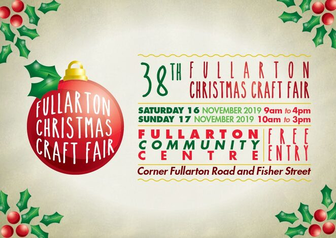 Fullarton Christmas craft fair, food trucks, hand made, candles, toys, clothes, soap, unique, jewellery, art, sausage, food, coffee, face painting, Christmas, Christmas decorations, plants