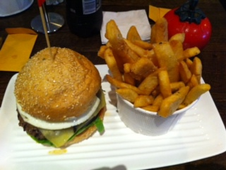 grilld, rundle street, burger, burgers, chips, food, reviews