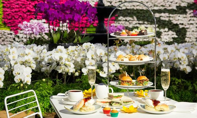 High Tea at the Calyx, Royal Botanic Gardens High Tea