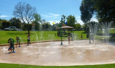 Hyde Park New Water Playground