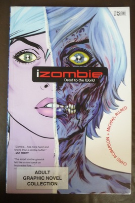 iZombie, zombie, zombie comics, books about zombies, revenant