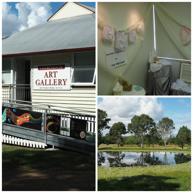 Kilcoy Courthouse Gallery, history, kilcoy, art, artists, local artists