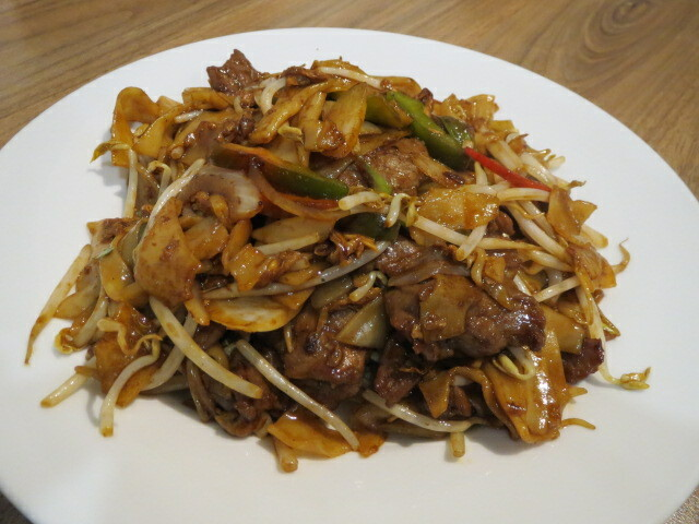 Kung Fu Express, Beef Fried Rice Noodle, Adelaide