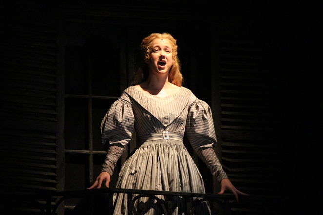 Les Miserables' Cosette played by Emily Langridge (photo by Adrian Kmita)