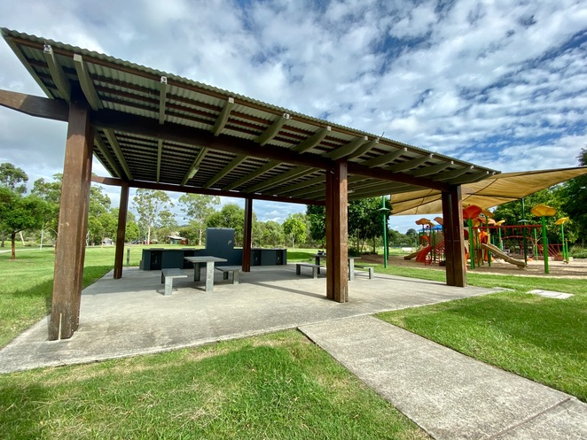 BBQ and picnic facilities at Mount Cotton Community Park
