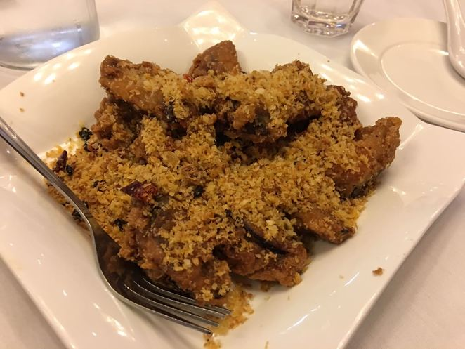 New Chef at Park Lok, Stuffed Eggplant with Garlic, Adelaide