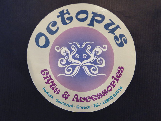 Shopping at Perissa and Perivolos Beach Santorini Octopus Boutique
