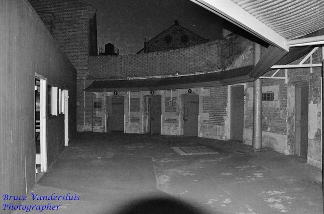 old adelaide gaol, ghost, tours, crime, adelaide, courtyard